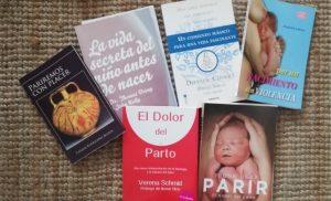 libros sobre el parto